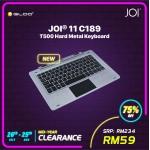Joi 11 C189, T500 Hard Metal Keyboard