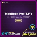 (2019) MacBook Pro (13'') 8GB, 128GB Space Grey (MUHN2ZP)
