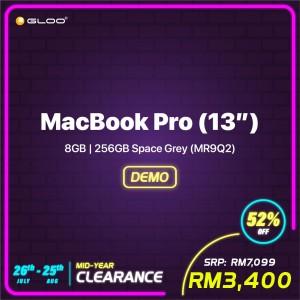 (2018) MacBook Pro (13'') 8GB, 256GB Space Grey (MR9Q2) (AJHC8)