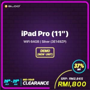 iPad Pro (11'') WiFi 64GB - Silver (3E149ZP) (New)
