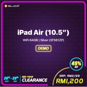 iPad Air (10.5'') WiFi 64GB - Silver (3F561ZP)(MLMPF)