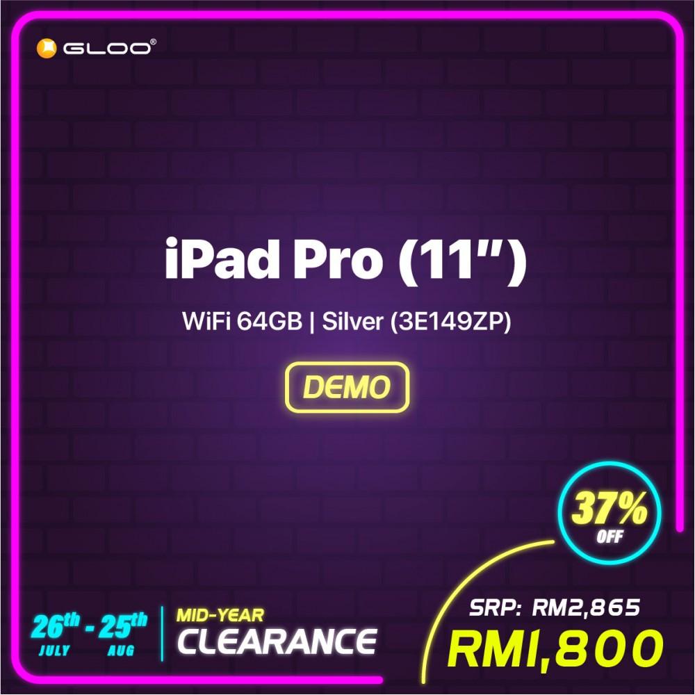 iPad Pro (11'') WiFi 64GB - Silver (3E149ZP)