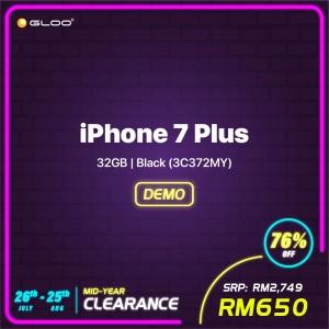 iPhone 7 Plus 32GB Black (3C372MY)(36220)