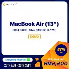 "MacBook Air (13"") 8GB | 128GB | Silver (MQD32) (3J1WK)"