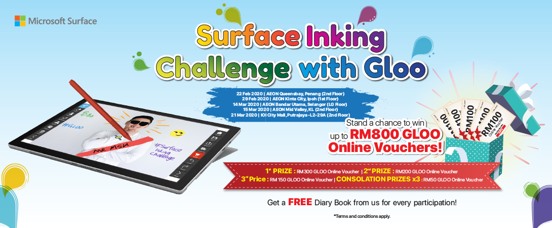 Surface Linking Challenge with Gloo