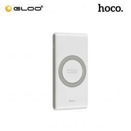 Hoco B32 Ultrathin 8000mAh Qi Wireless Charger External Battery Powerbank - White