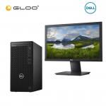 "Dell Optiplex 3080MT-i5558G-512-W10-AX (i5-10505,8GB,512GB SSD,Integrated,3YrsPS,W10Pro) + Dell E1920H 18.5"" HD LED Monitor"