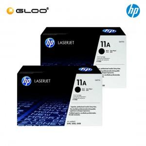 [2 Units] HP 11A Black Original LaserJet Toner Cartridge Q6511A