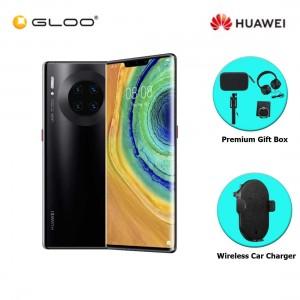 Huawei Mate 30 Pro 8GB+256GB Black [FREE Premium Gift Box (Speaker/Headset/Selfie Stick/iRing) +Huawei Super Charge Wireless Car Charger]