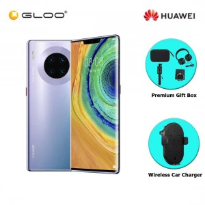 Huawei Mate 30 Pro 8GB+256GB Space Sliver [FREE Premium Gift Box (Speaker/Headset/Selfie Stick/iRing) +Huawei Super Charge Wireless Car Charger]