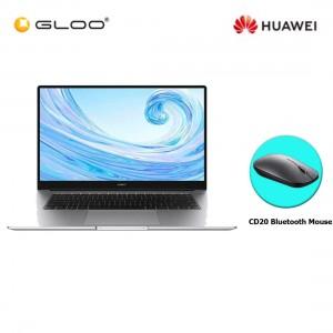 "Huawei MateBook D 15 (Mystic Silver) 15.6"" AMD Ryzen 5 - 3500U/8GB/512GB/W10 (FREE Huawei CD20 Bluetooth Mouse Black)"