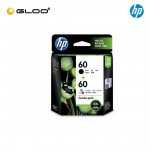 HP 60 Combo Pack Black/Tri-Color Original Ink Advantage Cartridge CN067AA