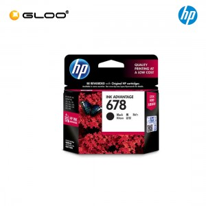 HP 678 Black Original Ink Advantage Cartridge CZ107AA