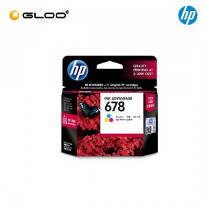 HP 678 Tri-color Original Ink Advantage Cartridge CZ108AA