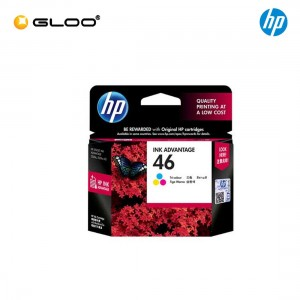 HP 46 Tri-color Original Ink Advantage Cartridge CZ638AA