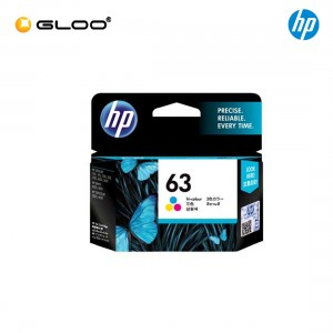 HP 63 Tri-color Original Ink Advantage Cartridge F6U61AA