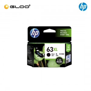 HP 63XL Black Original Ink Advantage Cartridge F6U64AA