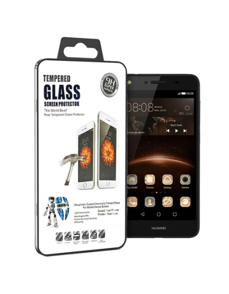 9H Huawei Y5ii Tempered Glass - Clear
