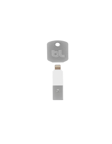 Bluelounge KII for iPhone 5 Lightning Connector USB Charger- White