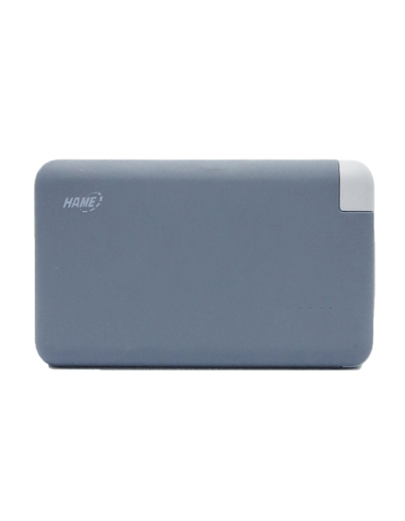 Hame T6R 8000mAh Lithium-Polymer Power Bank - Gray