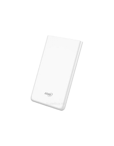Hame X1R 4000Mah Polymer Power Bank - White