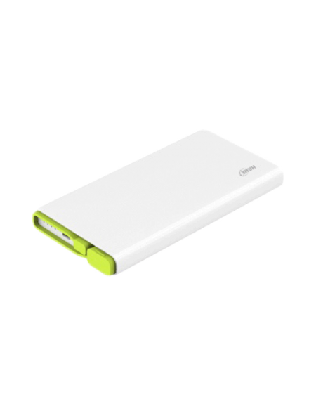 Hame X2 10000Mah Polymer Power Bank - White