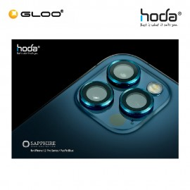 Hoda Sapphire Lens Protector for iPhone 12 Pro - Pacific Blue (3PCS) 4713381519691