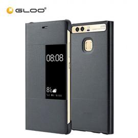 Huawei P9 Rimless Flip Case - Dark Grey