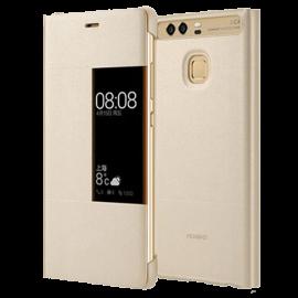 Huawei P9 Rimless Flip Case - White