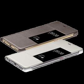 Huawei P9 Plus Rimless Flip Case - White