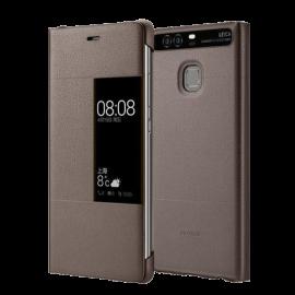 Huawei P9 Plus Rimless Flip Case - Brown