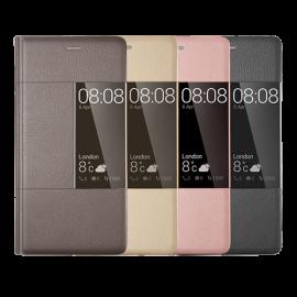Huawei P9 Plus Rimless Flip Case - Pink