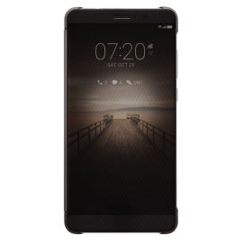Huawei Mate 9 Smart View Flip Case - Brown