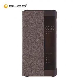 Huawei Mate 9 Pro Smart View Flip Case - Brown