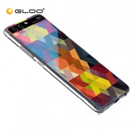 Huawei P10 Multi Color TPU Case Diamond Pattern