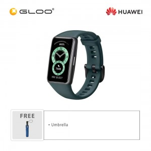Huawei Band 6 Forest Green [*Free Umbrella (random color) -While Stock Last]