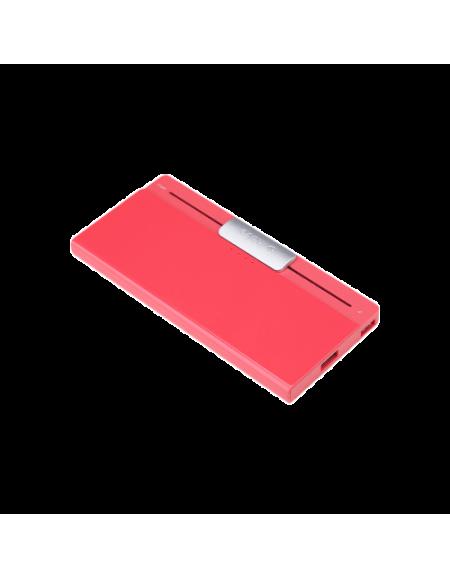 iHave MJU 6950290655449 Power Bank (5000mAh, Polymer battery, Dual USB Port, 5V/1A, 5V/2.1A) - Red