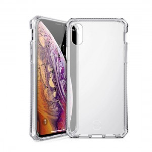 ITSKINS Spectrum - Air drop protection in TPU back case for iPhone X - Transparent 4894465307301