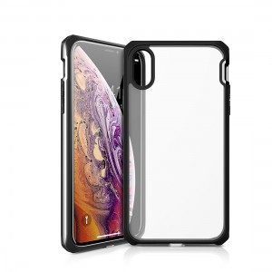 ITSKINS Venum Reloaded Bumper with clear black back case for iPhone X Black Piano 4894465466541