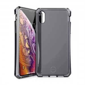 ITSKINS Spectrum - Air drop protection in TPU back case for iPhone X - Black 4894465647933