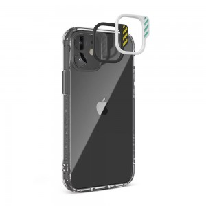 JTLEGEND iPhone 12 Pro Max (6.7) Hybrid Cushion DX Case - Crystal