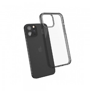 JTLEGEND iPhone 12/12 Pro (6.1) Hybrid Cushion Case - Crystal Black