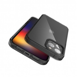 JTLEGEND iPhone 12/12 Pro (6.1) Hybrid Cushion Case - Crystal Black