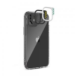 JTLEGEND iPhone 12/12 Pro (6.1) Cushion DX Case - Crystal