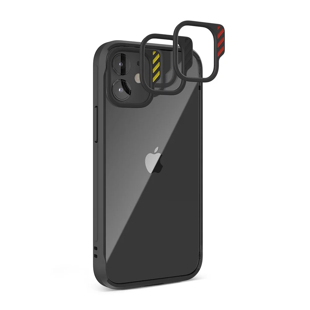 JTLEGEND iPhone 12/12 Pro (6.1) Hybrid Cushion DX Case - Black
