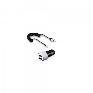 Just Mobile Highway Max Car Charger 2 USB 4.2A 885335169673