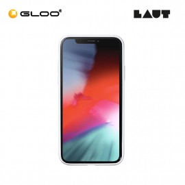 LAUT Mineral Glass (for iPX/XS) Mineral White  4895206906111