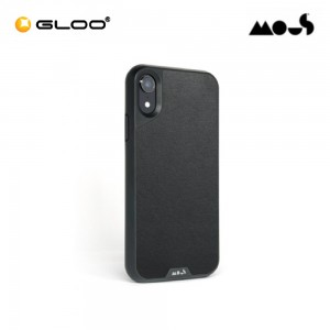 Mous Air Shock High Impact Material iPhone XR Black Leather 5060624480959