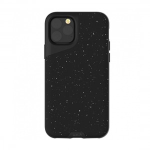 Mous Contour iPhone 11 Pro Max Speckled Black Leather 5060624482380