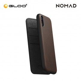 Nomad Leather Folio Case iPhone XR - Horween Brown 855848007663